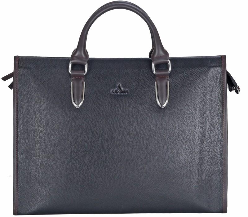 Adamis Men Black Messenger Bag
