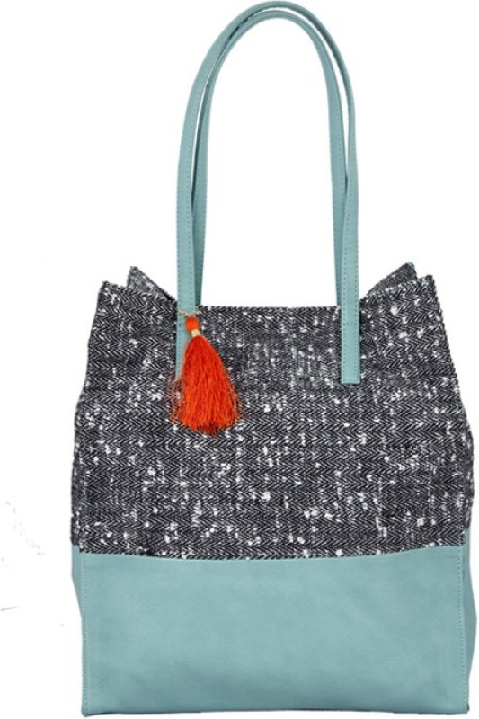Desi Drama Queen Women Blue Tote