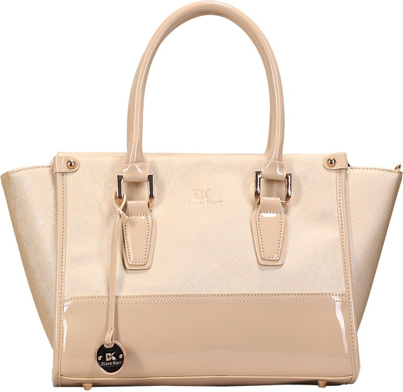 Diana Korr Hand-held Bag(Beige)