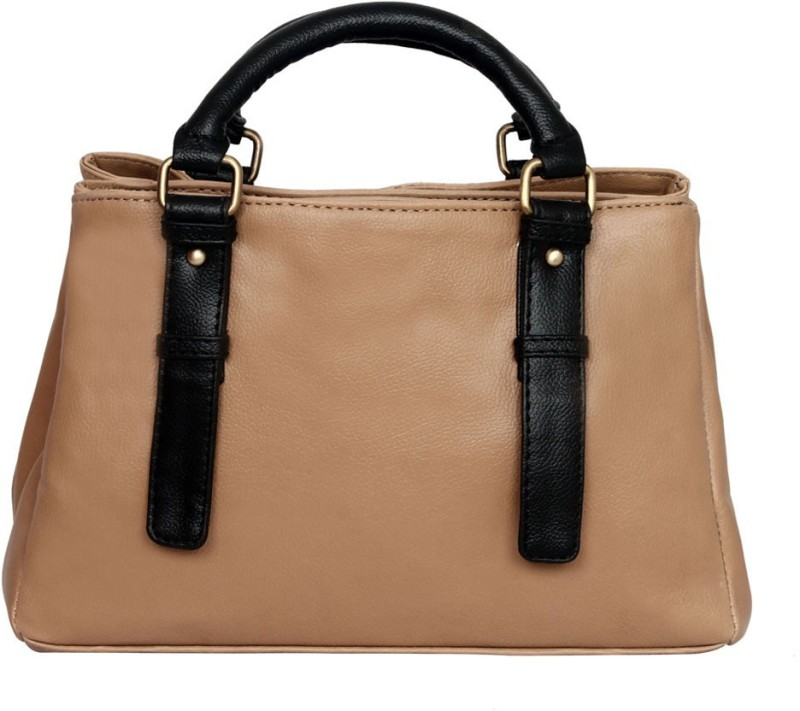Bagsy Malone Women Beige Shoulder Bag