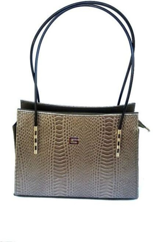 Viva Women Grey Shoulder Bag