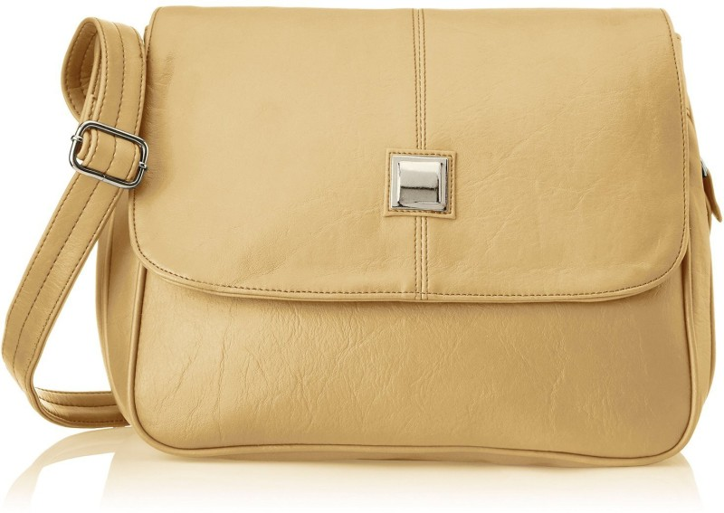 Fostelo Women Beige Shoulder Bag