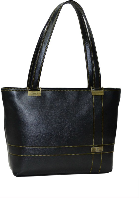 Utsukushii Women Black Shoulder Bag