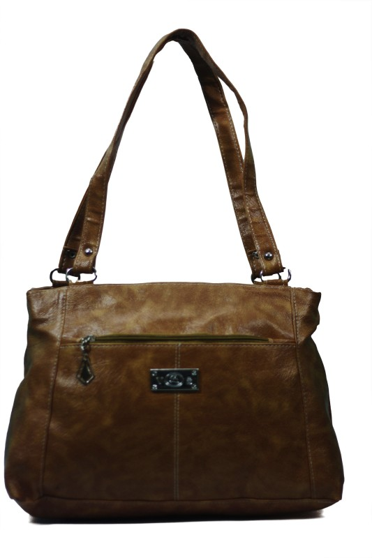 VS Creation Women Brown Messenger Bag