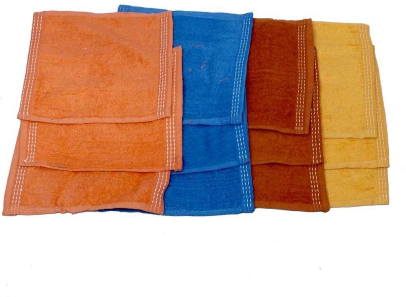 Kuber Industries Plain Handkerchief(Pack of 12) Plain
