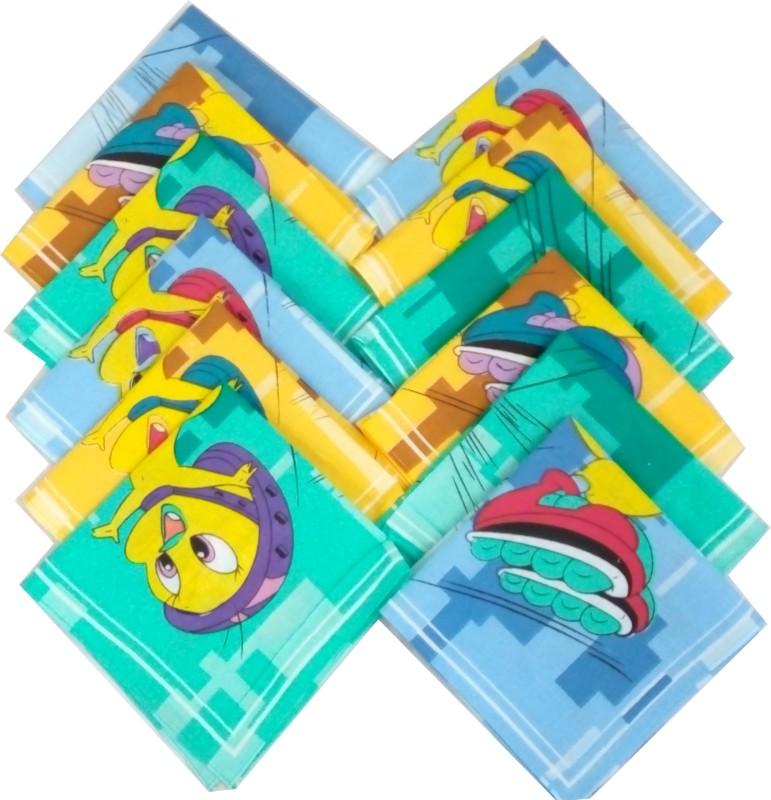 Sofil Cartoons Handkerchief(Pack of 12)