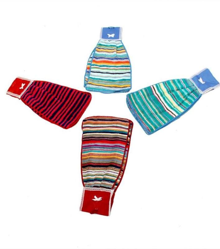 Kuber Industries Line Handkerchief(Pack of 4) Line