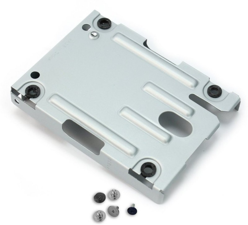 WireSwipe Mounting Bracket Caddy for PS3 SuperSlim Consoles 2.5 inch Hard Disk Case(For PlayStation3 system (CECH-400x series), Silver)