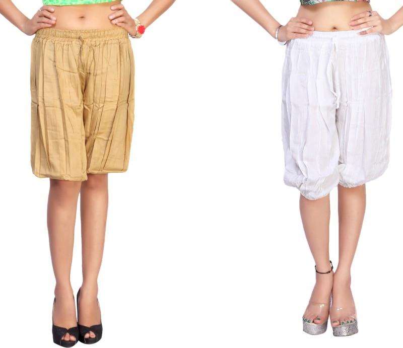 Comix Solid Rayon Womens Harem Pants