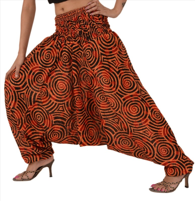 Skirts & Scarves Printed Cotton Women's Harem Pants