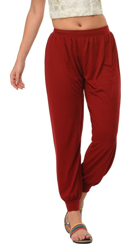 Frenchtrendz Solid Viscose Womens Harem Pants