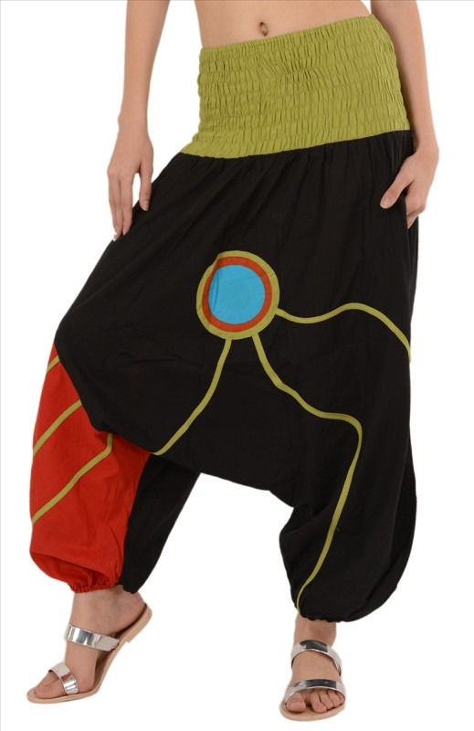Skirts & Scarves Applique Cotton Womens Harem Pants