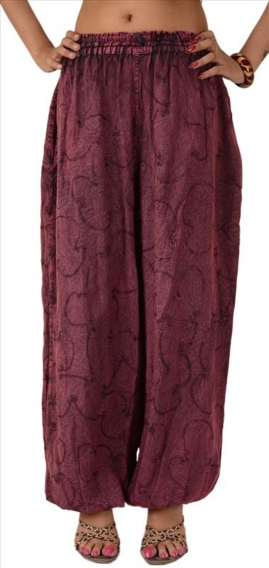 Skirts & Scarves Solid Viscose Women's Harem Pants
