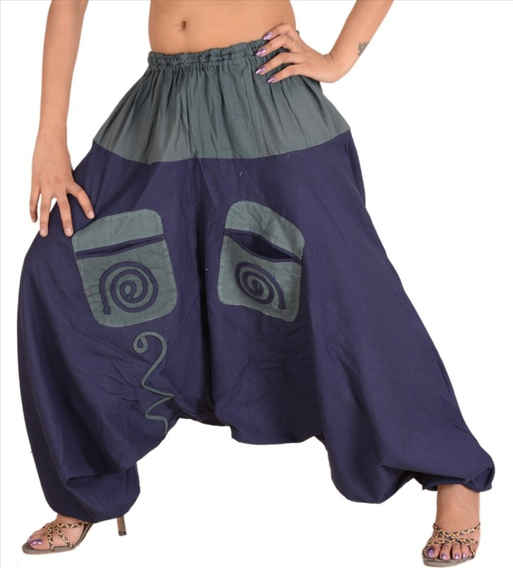 Skirts & Scarves Applique Cotton Women's Harem Pants