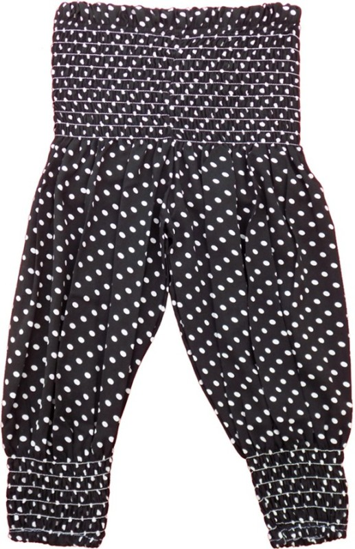 Fashionable Solid Cotton Girls Harem Pants