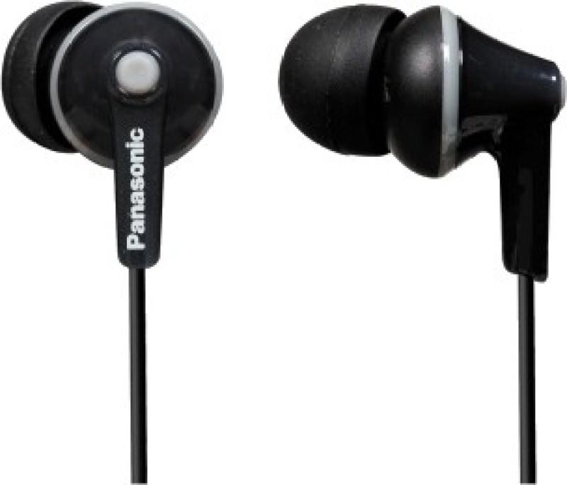 Panasonic RP-HJE125 Wired Headphone(Black, In the Ear)