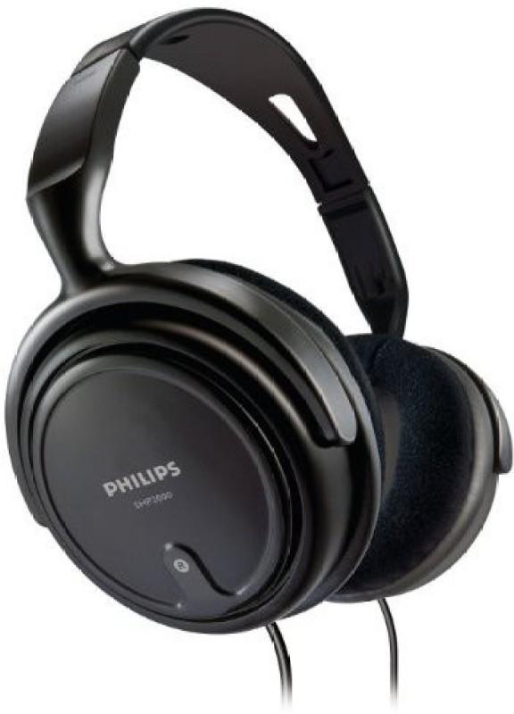 Philips Shp2000 - Adjustable Over-Ear Stereo Corded Audio Headphones Headphone(Black)