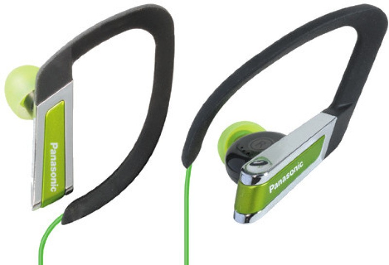 Panasonic RP-HS200E-G Headphone(Green, In the Ear)