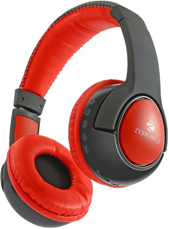 Zebronics TARANG Wireless bluetooth Headphone(Black, Over the Ear)
