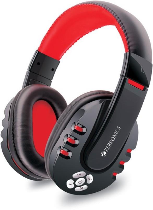 Zebronics hiplife Bluetooth Headphone(Black, Over the Ear)