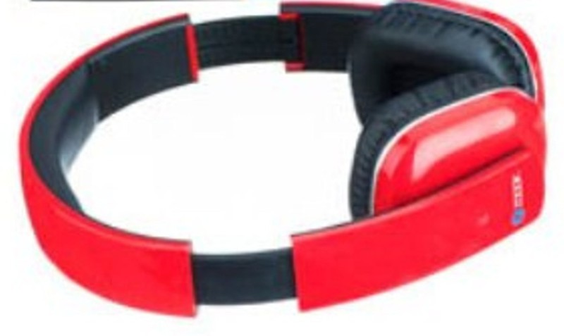 Zoook zb-bhp18 Wired bluetooth Headphone(Red, Over the Ear)