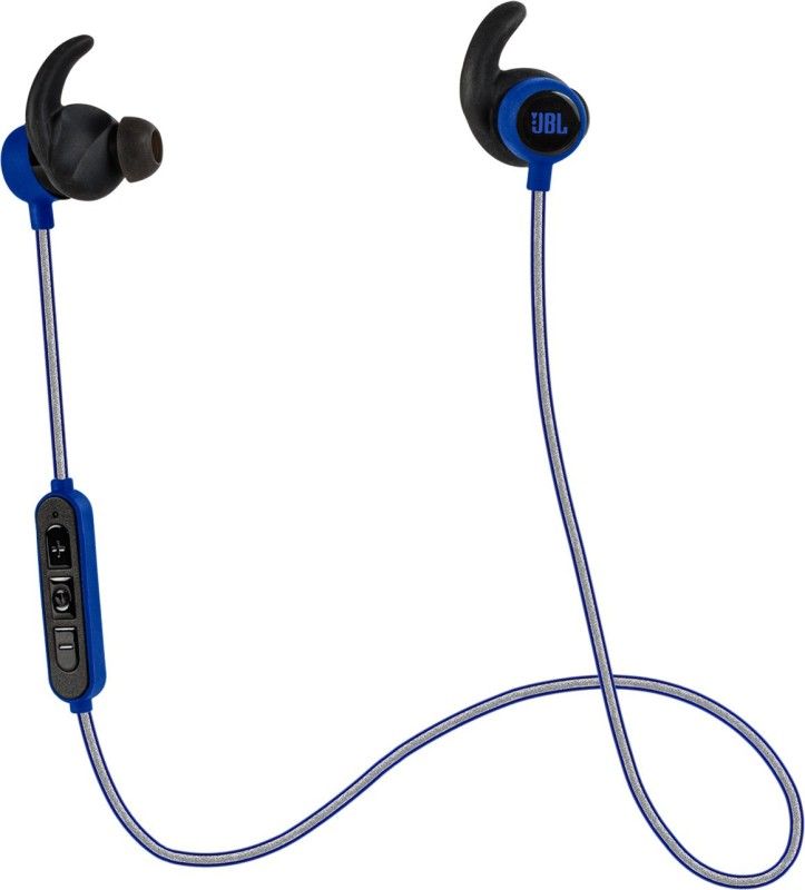 JBL Reflect Mini BT Headphone(Blue, In the Ear)