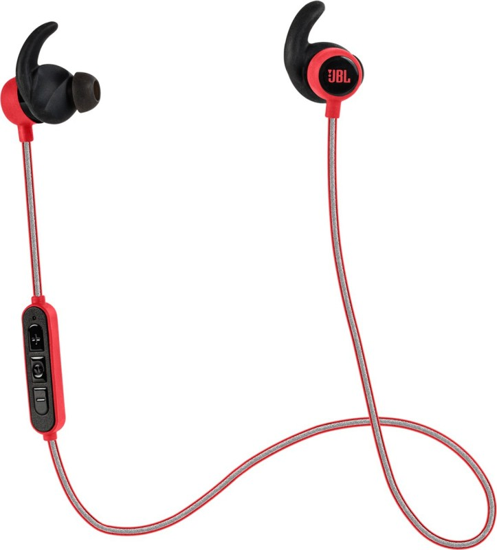 JBL Reflect Mini BT Headphone(Red, In the Ear)