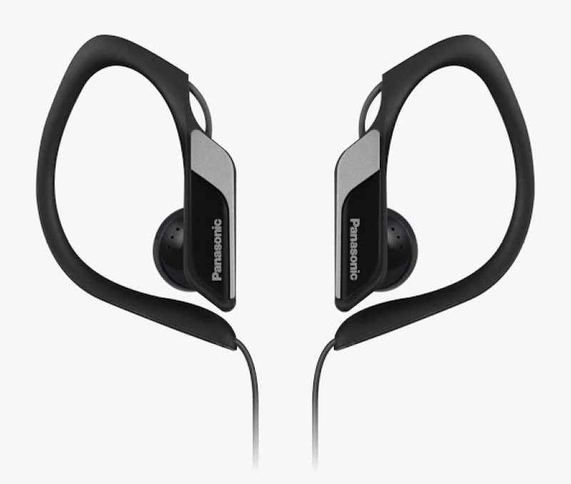 Panasonic RP-HS34E-K Headphone(Black, In the Ear)