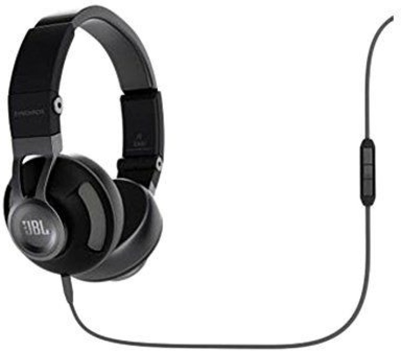 JBL Synchros S300A Wired Headphone(Black, On the Ear)