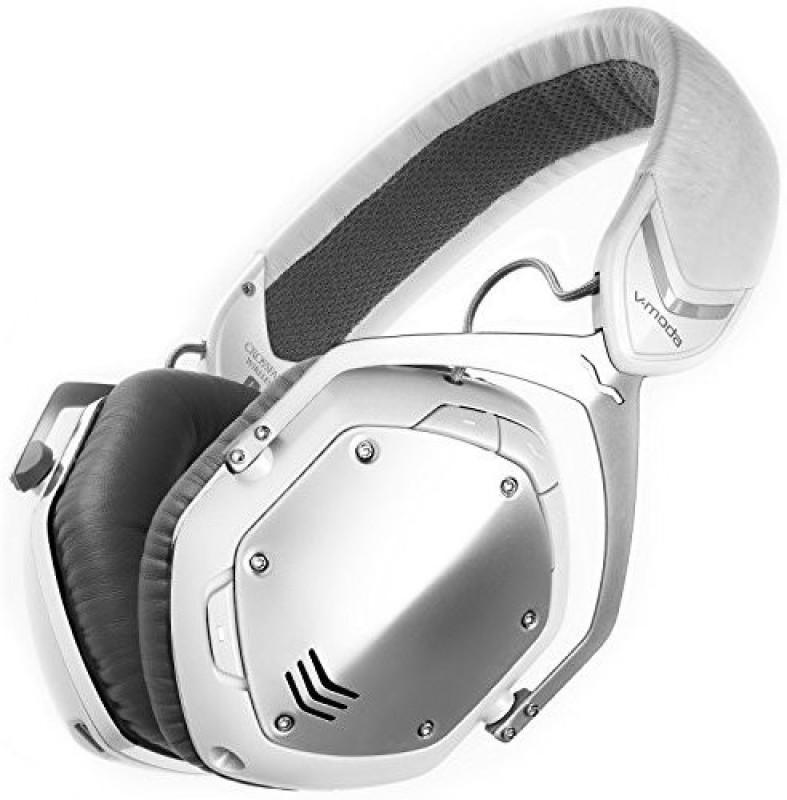 V-Moda Crossfade Wireless Over-Ear Headphone - Silver Headphone(White)