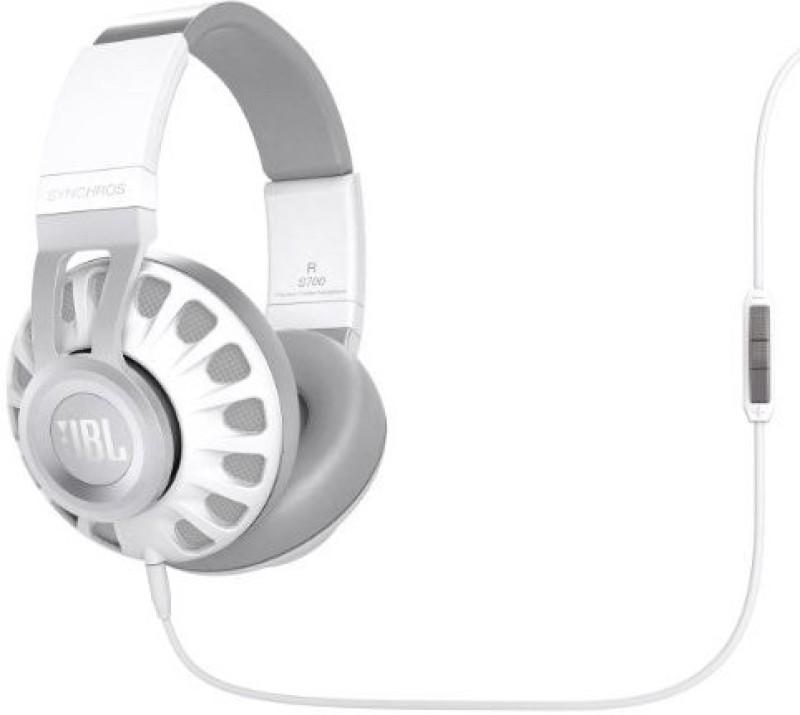 JBL Synchros S700 Premium Powe Over-Ear Stereo Headphones Headphone(White)