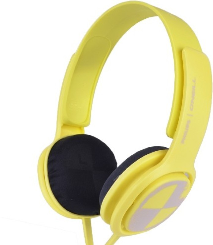 Philips O Neill Cruz Headphone(Yellow, On the Ear)