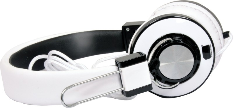 A Connect Z U-918-HdPH-WT441 Headphone(White, Over the Ear)