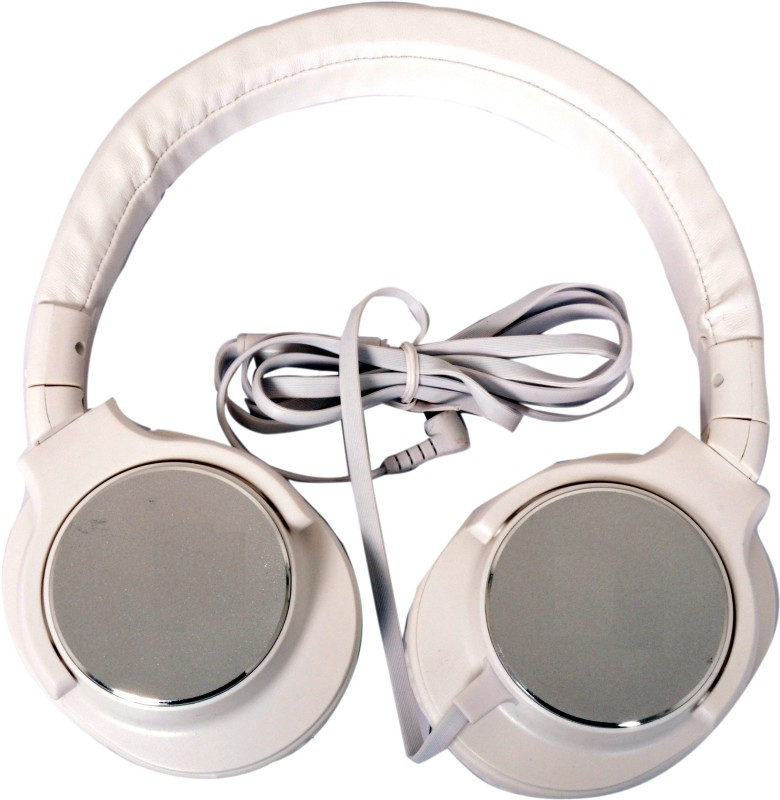 A Connect Z U-923-HdPHWhit-453 Headphone(White, Over the Ear)