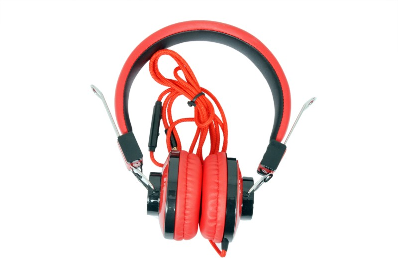 A Connect Z U-918-HdPH-RD435 Headphone(Red, Over the Ear)