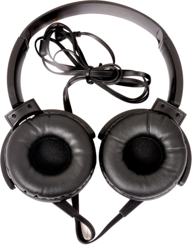 A Connect Z HP-911-HdPH-BLK414 Headphone(Black, Over the Ear)