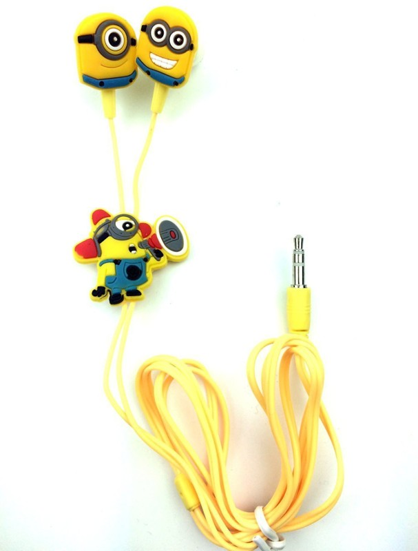 A Connect Z Yellow In ear Z20 102 Headphone(Yellow, In the Ear)