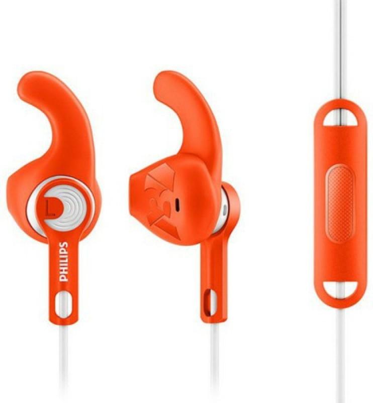 Philips SHQ1305OR Headphone(Orange, In the Ear)
