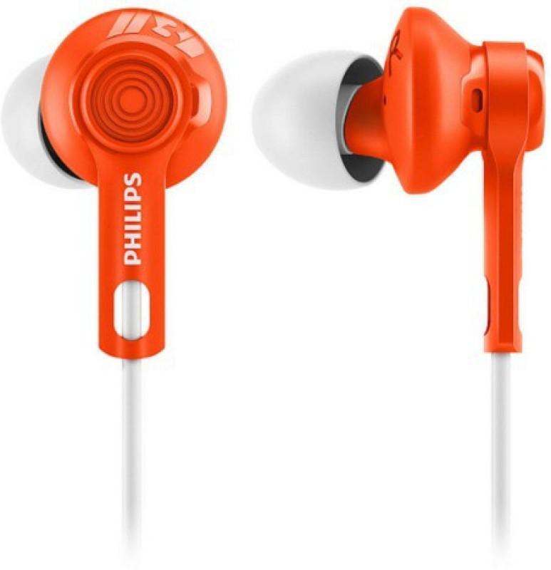 Philips SHQ2300ORA Wired Headphone(Orange, In the Ear)