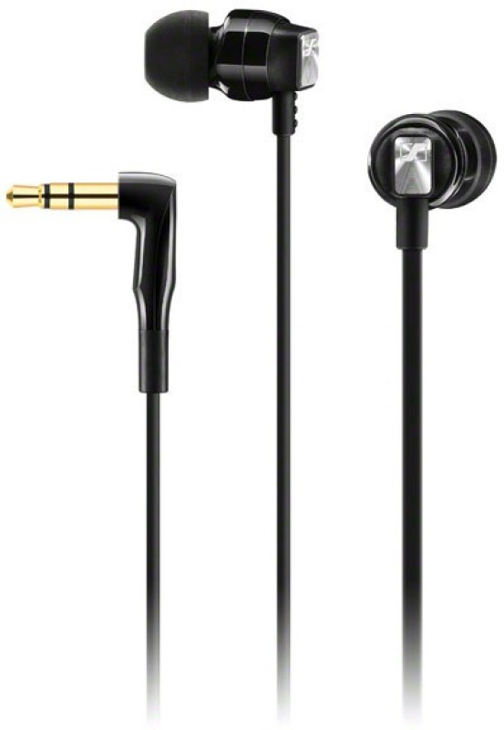 Sennheiser CX 3.00 Wired Headphone(Black, In the Ear)