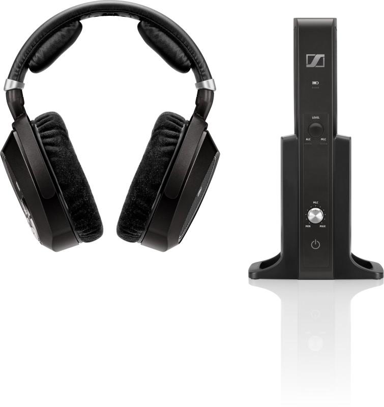 Sennheiser RS 185 Headphone(Black, Over the Ear)