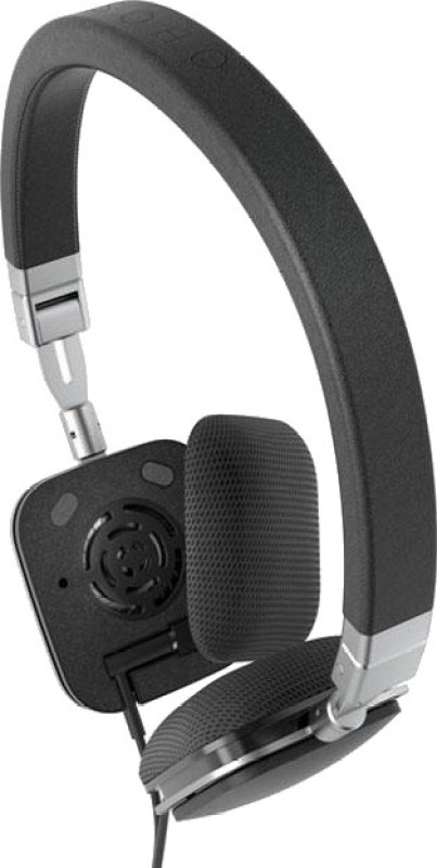 Harman Kardon Soho Wired Headphone(Black, On the Ear)
