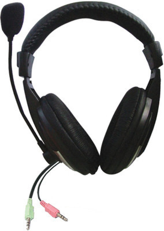 Zebronics 100 HM Headset with Mic(Black, Over the Ear)