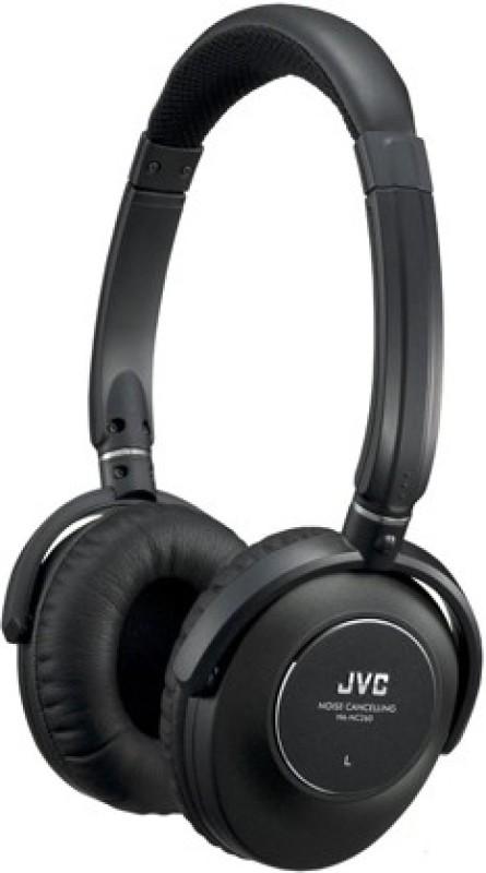 JVC HA-NC260 Wired Headphone(Black, Over the Ear)