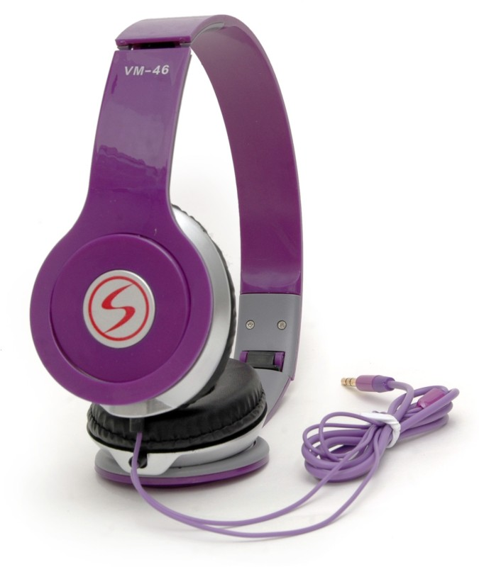 Signature VM-46 Headphone(Purple, On the Ear)