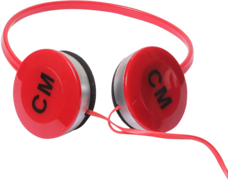 Callmate CM Headphone(Red, On the Ear)
