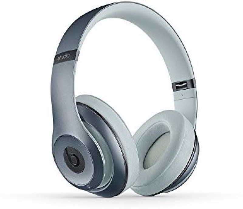 Beats Studio Wireless Over-Ear Headphone - Metallic Sky Wired bluetooth Headphone(White)