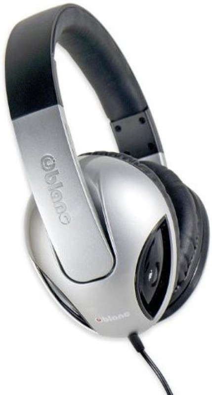 Oblanc Syba Nc-1 Cobra 2.1 Dual Driver Headphones With Built-In Amplifier And In-Line Microphone - Retail Packaging Headphone(Black)