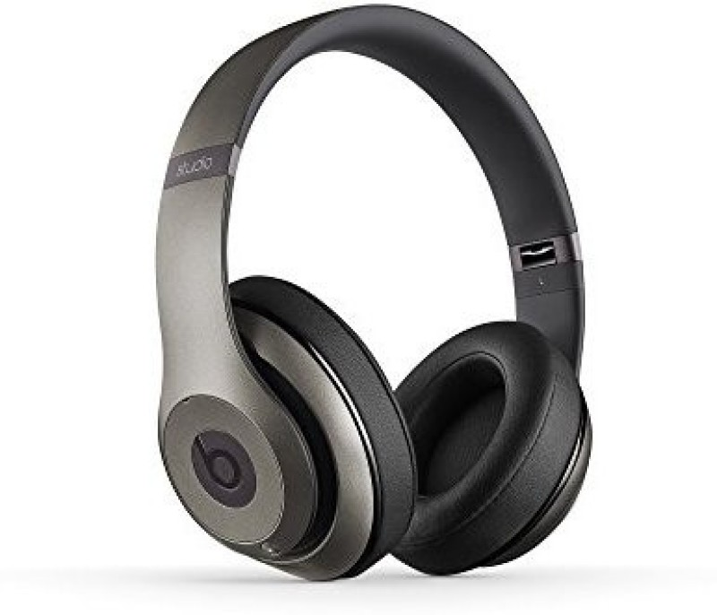 Beats Studio Wireless Over-Ear Headphone - Titanium Wired bluetooth Headphone(Black)