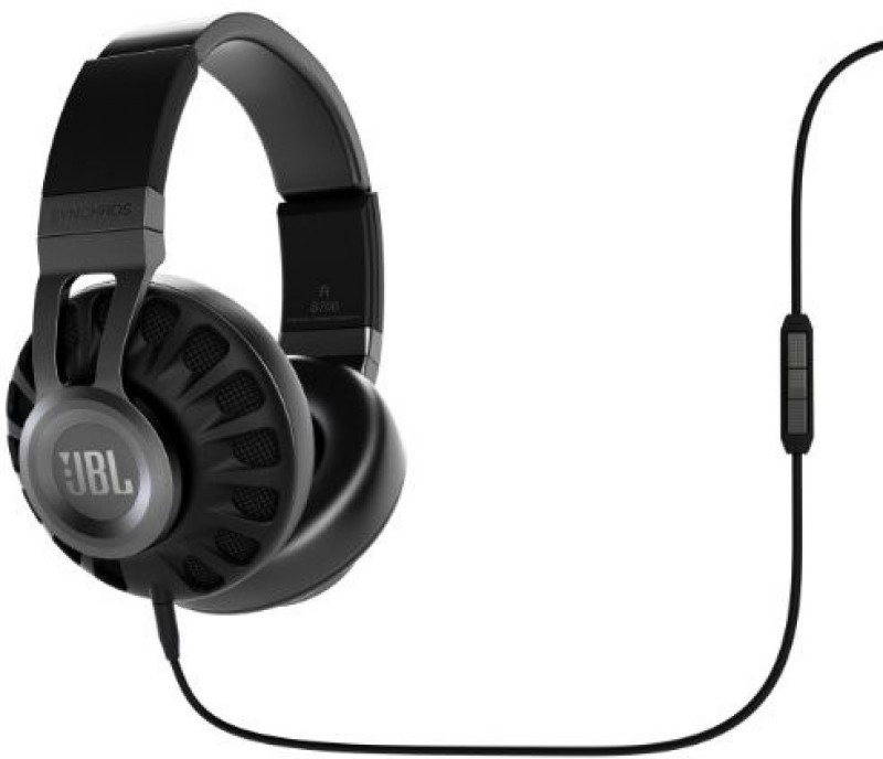 JBL Synchros S700 Premium Powe Over-Ear Stereo Headphones, Black Headphone(Black)